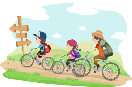 Alföldi Kék kerékpáron